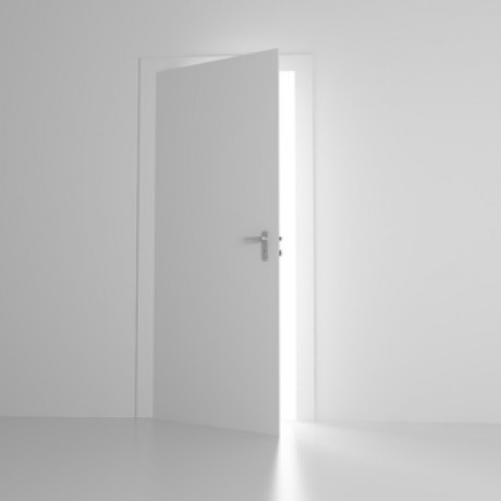 white door into dream